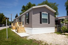 Purchase A Brand New 1 Bedroom Bath Manufactured Home At Chief Mobile Park This 14 X 40 Is 546 Square Feet And Features Appliances